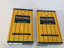 2 x Coty Crossmen St. Andrews 50ml Eau De Toilette spray. New. Vintage & Rare