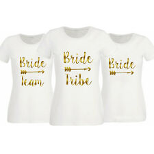 Women Female T Shirts Hen Do Party Bride Tribe Night T-shirt Personalised Tee