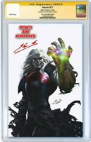 PREORDER Venom 27 SDCC Virgin Variant CGC SS AND REMARKED by Skan 9.8 MINT