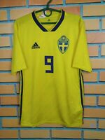 Sweden Jersey 2018 2019 Home Kids Boys 15-16 y Shirt Football Adidas BR3830