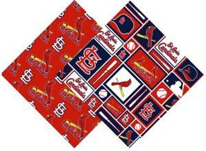 BTHY MLB Major League Baseball - St. Louis Cardinals Logo Patch Cotton Fabric