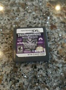 Transformers: Revenge of the Fallen -- Nintendo DS -- Game only