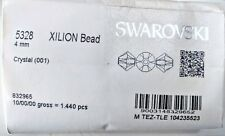 Genuine SWAROVSKI 5328 XILION Bicone Beads Many Crystal Colors with Effects