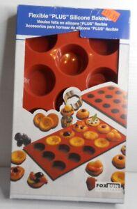 "Flexible PLUS Silicone Non-Stick Cylinder Bakeware Mold , 2"" Dia. x 1 1/8"" Deep"