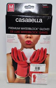 Casabella Water Block Premium Gloves Medium Pink