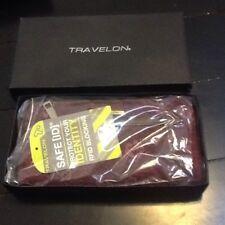 Women's Travelon RFID blocking wallet NIB Purple