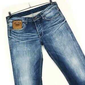 Pepe Jeans London M292V11 Scratched MRT02 Blue Cotton Mens Jeans Size W34 L34