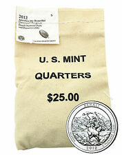 2012 Denali National Park Quarter - San Francisco - $25 US Mint Bag