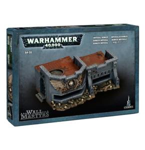 Wall of Martyrs Imperial Bunker Terrain Warhammer 40K NIB