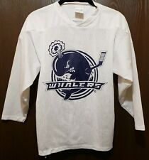 Lightweight White Whalers Hockey Jersey Youth Medium