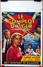 Jean Dreville : V Norman : Le Complot  D'Alger : POSTER