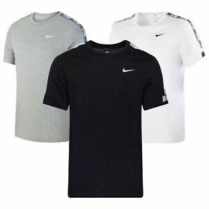 Mens Nike T Shirt Logo T-Shirt Retro TShirt Branded Sports Cotton Crew Tee Shirt