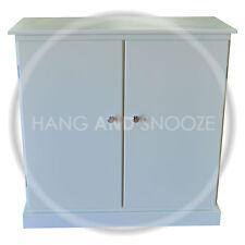 handmade cambridge 3 shelf shoe rack with doors assembled