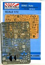 "Marabu Models 1/72 NAKAJIMA B5N2 ""KATE"" Bomber Photo Etch Detail Set"
