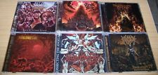 DEATH METAL LOT 6CDs Brand New & Sealed   +++FREE SHIPPING+++