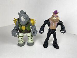 Bebop & Rocksteady 2014 Playmates Teenage Mutant Ninja Turtles Action Figures