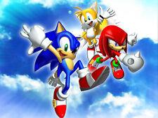 Sonic Decoration Gateau Disque Azyme Comestible Anniversaire