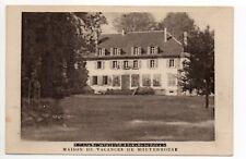 MOUTERHOUSE  Moselle CPA 57 maison de vacances