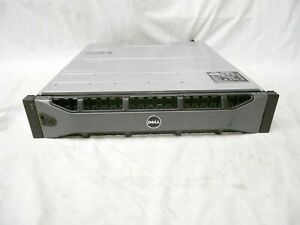"DELL EQUALLOGIC PS6210X SAN 24x 1.2TB 10K SAS iSCSI STORAGE 10Gb 2.5"" 2x Type 15"