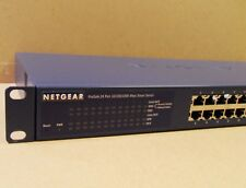 Netgear ProSafe GS724T (24-Port Gigabit Switch with Brackets) Netgear GS724T