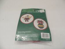 Bucilla French Horn & Ornament Cross Stitch Kit 32575 -- NEW
