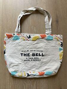 RARE Taco Bell Hotel Palm Springs Canvas Bag