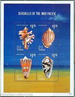PALAU 2014 SEASHELLS OF THE CARIBBEAN  SHEET  I  MINT NH