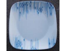 "Corelle Square BLUE DIAMONDS 8 3/4"" LUNCH Luncheon SALAD PLATE *Brand NEW"
