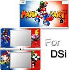 SUPER MARIO KART SKIN COVER STICKER for NINTENDO DSi 1