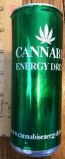 2010 Cannabis Energy Drink 8.4 Collectible Can Monster Rockstar Red Bull READ