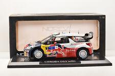 CITROEN DS3 WRC WINNER MEXIQUE 2011 #1 S. LOEB NOREV 1/18 NEUVE EN BOITE