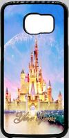 Disney World Castle Phone Case Cover Fits iPhone Samsung Google LG etc Any Name