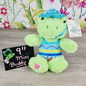 """Mini Spring Frog Build A Bear 9"""" 🐸 Plush Easter Egg Custume Outfit Clothes"""
