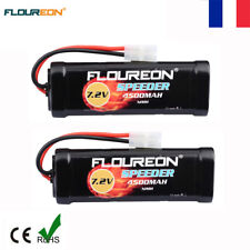 2x 7.2V 4500mAh Ni-MH Batterie Female-tamiya pour RC Avion Hélicoptère Voiture