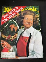 Newsweek Mag Betty Ford First Lady December 29, 1975
