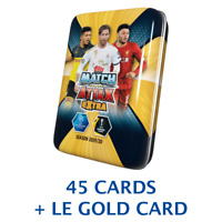 2019-20 TOPPS MATCH ATTAX EXTRA CHAMPIONS LEAGUE MINI RAMOS COVER TIN 45 CARDS