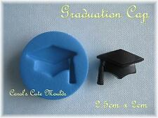 SUGARCRAFT: GRADUATION CAP SILICONE MOULD CUPCAKE/CAKE TOPPERS