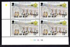 Isle of Man sc#103 MNH LL PB 1977 Motorcycle Races-Boy Scouts & scoreboard
