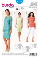BURDA Gabarits de couture femmes soirée mariage Robe en dentelle size 10 - 22