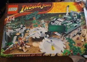LEGO Indiana Jones Jungle Cutter Unopened figures toys