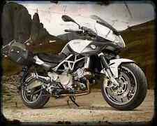 Aprilia Mana 850 Gt 14 A4 Photo Print Motorbike Vintage Aged