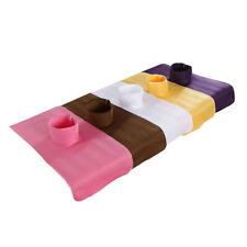 5 Piece Massage Soft Table Cover Beauty Salon Spa Bed Sheet with Multi-color
