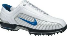 Nike Air Zoom Elite 2 Mens Golf Shoes Cleats White Blue Leather 10.5 Tiger Woods
