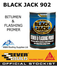 Everbuild 902 Black Jack BITUMEN & FLASHING PRIMER Flash Band Compound - 1L
