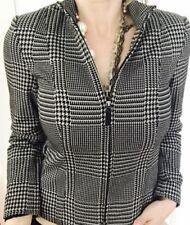 Viscose Machine Washable Geometric Coats, Jackets & Vests for Women