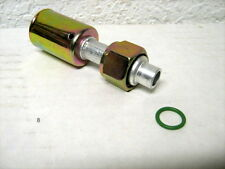 AC BEADLOCK A/C FITTING, CRIMP ON, FEMALE O RING,  STRAIGHT # 8   BL1302