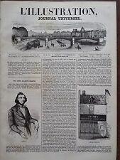 L' ILLUSTRATION 1843 N 36 UNE VISITE AU POETE JACQUES BOE dit JASMIN