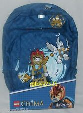 """Lego Legends of Chima Backpack New Childs 16"""" Long  x 11"""" Wide x 6.5"""" Deep"""