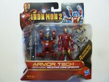 Iron Man 2 - (Blister) -  Armor Tech - Iron Man Negative Zone Upgrade