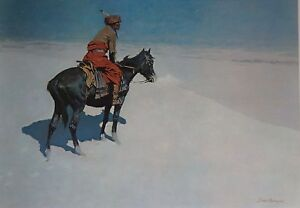 Frederick Remington, The Scout. Rare   Press Art.